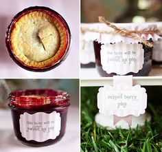 """Baby Shower Food: """"This Baby Will Be As Sweet As Pie"""""""