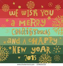 Happy New Year Holiday Photo Cards 2015
