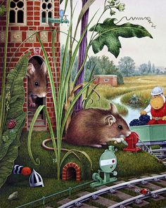 'Blackberry Grove' © Peter Cross 1982