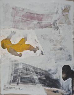 "Saatchi Art Artist Bahram Hajou; Painting, ""No Title "" #art"