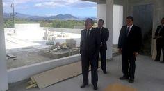 Presidente Medina supervisa trabajos construcción CAID-San Juan