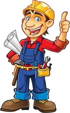 This PNG image was uploaded on March pm by user: SpammedPotato and is about Builder, Cartoon, Cartoon Builder, Construction, Construction Clipart.