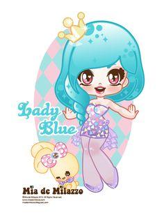 Lady blue by mimiloverwomen.deviantart.com on @deviantART