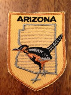 Arizona Vintage Travel Patch by Voyager by HeydayRetroMart on Etsy, $7.00