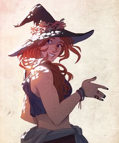 Witch Druid by Prince Canary Fantasy Character Design, Character Creation, Character Drawing, Character Design Inspiration, Character Illustration, Character Concept, Concept Art, Dnd Characters, Fantasy Characters