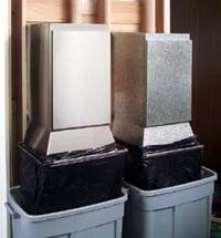 Innovative Clean Chute Recycle System Takes Trash Directly from Kitchen to Garage