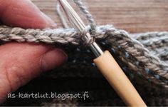 AS-kartelut: Virkkaa hittipipo Crochet, Bracelets, Ganchillo, Bracelet, Crocheting, Knits, Chrochet, Arm Bracelets, Bangle