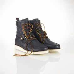 Men's Fall Fashion: Polo Ralph Lauren Saddleworth Leather Boot.