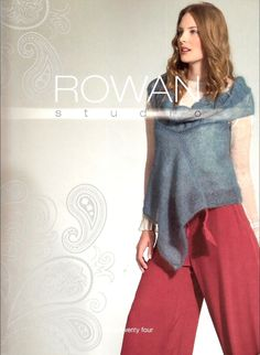 Buy Rowan Studio 24 Knitting Book from our Sewing, Knitting & Craft Books range at John Lewis & Partners. Free Delivery on orders over Rowan Knitting, Vogue Knitting, Knitting Books, Free Knitting, Crochet Book Cover, Crochet Books, Knit Crochet, Crochet Sweaters, Knitting Magazine