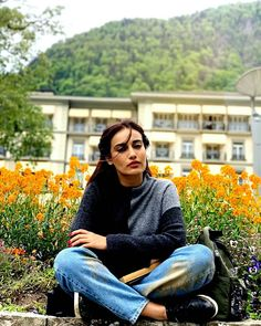 Image may contain: one or more people, people sitting, tree, shoes, outdoor and nature Indian Tv Actress, Beautiful Indian Actress, Indian Actresses, Photography Pics, Mixed Girls, Instagram Pose, Actor Photo, Tv Actors, People Sitting