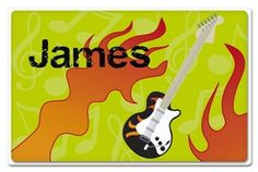 Rockstar Personalized Placemat