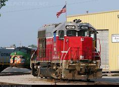 RailPictures.Net Photo: MNA 4014 Missouri & Northern Arkansas EMD GP40 at Kansas City, Missouri by Nick Smith