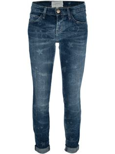 Current/Elliott - The Rolled skinny write on jean 6