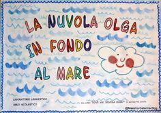 """La Nuvola Olga in fondo al mare. Un'esperienza nel Laboratorio Linguistico. Testo di riferimento: """"Dove vai, Nuvola Olga?"""" di Nic..."""