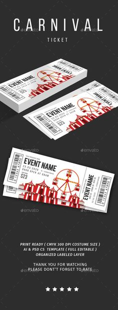 2017 season ticket design on behance design inspiration sports ticket booklet printing Carnival Tickets, Party Tickets, Event Tickets, Event Ticket Template, Event Flyer Templates, Music Tickets, Concert Tickets, Ticket Design, Design Poster