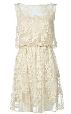 alice + olivia | darcy lace layover dress. Rehearsal dinner?