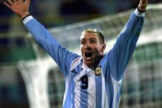 @Palermo #9ine Martin Palermo, Argentina National Team, Students, Silver