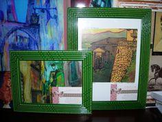 """""""Vicolo con colore"""" e """"Porta Malatesta in un giorno di sole"""", due quadri realizzati di recente al corso di pittura..."""