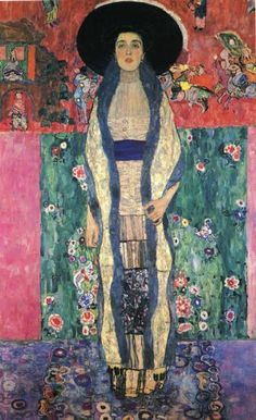 Gustav Klimt. Portrait of Adele Bloch-Bauer II. 1912. Oil on canvas. 190 x 120 cm. Private collection.