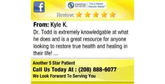 Dr. Todd is extremely knowledgable at what he does and is a great resource for anyone...