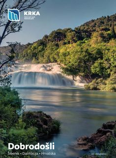 Open the guide map of the Krka National Park in PDF format.