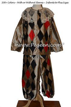 Nutcracker - The Harlequin Male Costume 781 | Pegeen