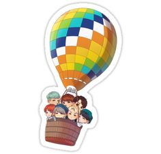 """""""Young Forever"""" Stickers by Oriiwu Art Bts Chibi, Anime Chibi, Bts Young Forever, Bts Pictures, Photos, Pop Stickers, Bts Drawings, Cute Cartoon Wallpapers, Aesthetic Stickers"""