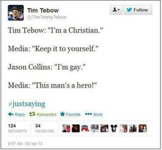 Common Sense Club: The response to NBA center Jason Collins coming out as Gay.