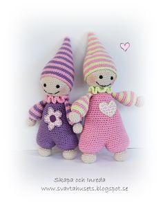 Skapa och Inreda: Kramgo virkad liten docka
