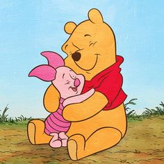 winnie the pooh hugging - Google Search