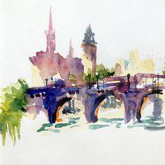 Rabiscos por Tula Moraes: Sketch it On  Paris