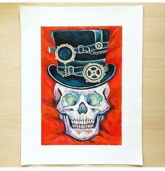 Skull Painting, Cheer Me Up, Skull Art, Gallery Wall, Colorful, Studio, Flowers, Instagram, Studios