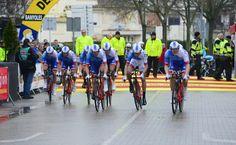 Equipe FDJ / Méditéranéenne - étape 1 (Contre la montre par équipe)