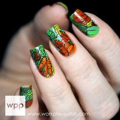 The Lacquer Legion: GARDEN…Veggies and More Veggies - work / play / polish