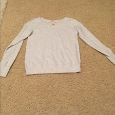Women's Long Sleeve Tee/ Sweater Worn 1x, looks new. would be willing to drop price if interested. PINK Victoria's Secret Sweaters Crew & Scoop Necks