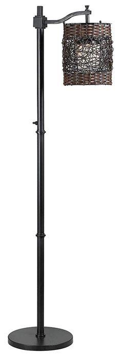 Kenroy Home Oil Rubbed Bronze Brent 1 Light Outdoor Floor Lamp Outdoor Floor Lamps, Outdoor Flooring, Outdoor Lighting, Flooring Ideas, Lighting Ideas, Outdoor Decor, Transitional Floor Lamps, Transitional Decor, Transitional Kitchen