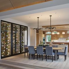 """If the butler's pantry is getting overstuffed, this is ls also a dramatic and fabulous wine """"fridge"""" option.  I feel like C could be bribed with this.  But price?  Will have to research."""