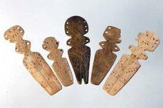 Gumelnita culture bone figures  Romania Bulgaria oldest neolithic civilizations eastern europe