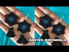 Seed Bead Earrings, Seed Beads, Crochet Earrings, Beading Tutorials, Beads Tutorial, Crafts, Handmade, Jewelry, Fashion