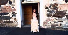 Soprano Katja Vaahtera wearing Ninaco couture dress. Photo: Svend Videbaek www.ninaco.co