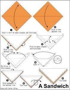 Origami Sandwich