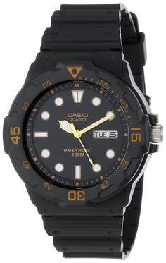 El Cheapo diver: Amazon.com: Casio Men's MRW200H-1EV Sport Analog Dive Watch: Casio: Watches