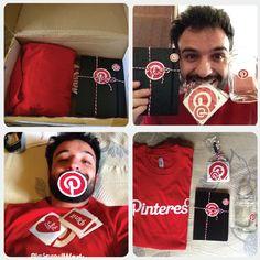 Como foi ganhar brindes do Pinterest Brasil #PinterestBrasil