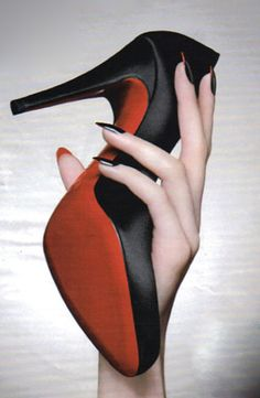 louboutin nails! i'll have to settle for this until i can afford a pair of pumps :)
