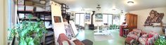 Interior of the Studio at Willowtail. Willowtail, Mancos, Colorado.