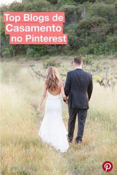 Quer saber quais são os TOP Blogs de casamento do Pinterest? Então dá uma olhada nessa lista e inspire-se