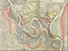 missippi river map changing - Google Search