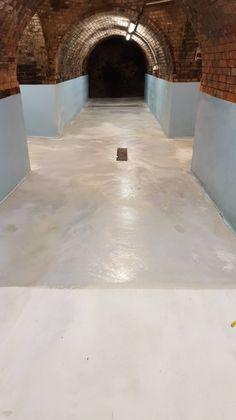 Beton, Estrich, Terrazzo, - reinigen, schleifen, dauerhaft versiegeln. Terrazzo, Anti Aging, Concrete Floor, Ribbons, Cleaning