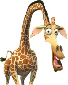 Madagascar was released in It has mainly 4 main characters. Alex the lion, Marty the zebra, Gloria the hippo and Melman the gira. Cartoon Giraffe, Funny Giraffe, Giraffe Art, Cartoon Art, Giraffe Humor, Giraffe Pictures, Funny Animal Pictures, Disney Cartoon Characters, Disney Cartoons