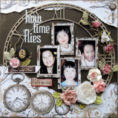 How Time Flies - Scrapbook.com
